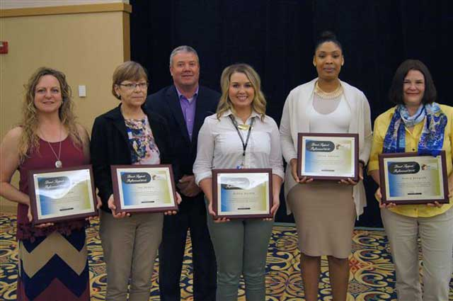 2016 Direct Service Professional Award Winners