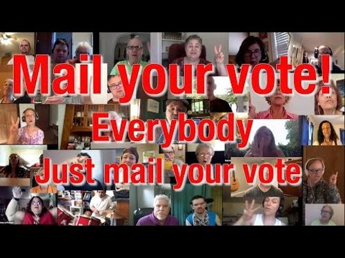 Mail your vote